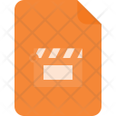 Video File Document Icon