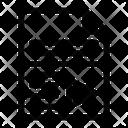 File Paper Data Icon