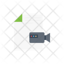 File Document Video Icon