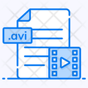 Video File File Format File Extension Icon