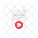 Video File Format Icon