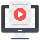 Video File Video Streaming Video Lecture Icon
