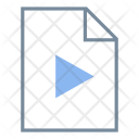 Video File Extension Icon