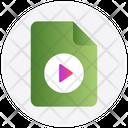Audio File Movie Icon