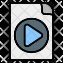 Video File File Video Icon