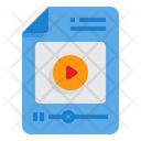 Video File Video Interface Icon