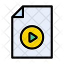 Video File Video File Icon