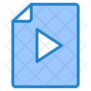 Video File Video Document File Icon