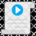 Video File File Format Filetype Icon
