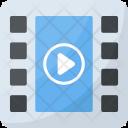 Multimedia Video File Icon
