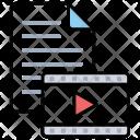 Video File Clip Icon
