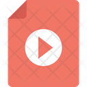 Movie File Movie Clip Video File Icon