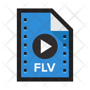 Video Flv Video Movie Icon