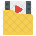 Video Folder Video Binder Media Folder Icon