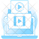 Video File Video Folder Media Folder Icon