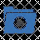 Video Folder Multimedia Icon