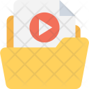 Video Folder Movie Icon