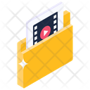 Video Folder Media Folder Multimedia Folder Icon
