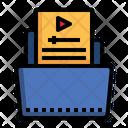 Video Folder Film Folder Icon