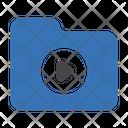 Folder Directory Video Icon