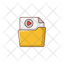 Video Folder Directory Icon
