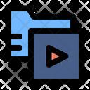 Video Folder Movie File Icon
