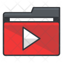 Video Folder Collection Icon
