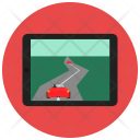 Tablet Racing Game Icon