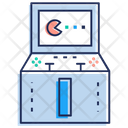 Video Game Slot Machine Pacman Game Icon