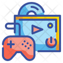 Console Gamer Leisure Electronic Play Icon
