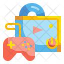Video Game Gaming Console Icon