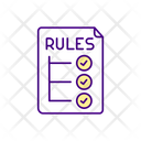 Video Game Rules Icon