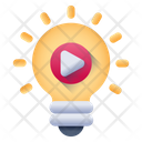 Movie Idea Video Idea Innovation Icon