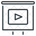 Video Instruction Webinar Icon