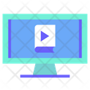Vidoe Learning Video Learning Study Video Icon