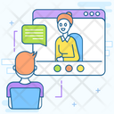 Video Lecture E Learning Video Lesson Icon