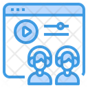 Lesson Learning Video Icon