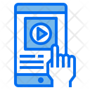 Screen Smarphone Mobile Icon