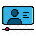 Online Learning Video Course Icon