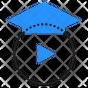 Button Video Tutorial Icon