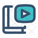 Video Learning Lesson Icon