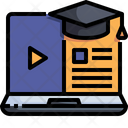 Video Learning Icon