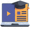 Video Learning Video Lesson Video Tutorial Icon