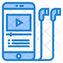 Video Learning Education Online Learning Icon
