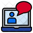 Video Learning Video Chat Video Call Icon