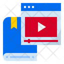 Video Learning Video Tutorial Online Learning Icon