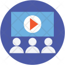 Video Lecture Theater Icon