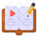Video Education Video Lesson Video Learning Icon