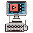 Video Lessons Education Icon