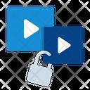 Video Lock Icon